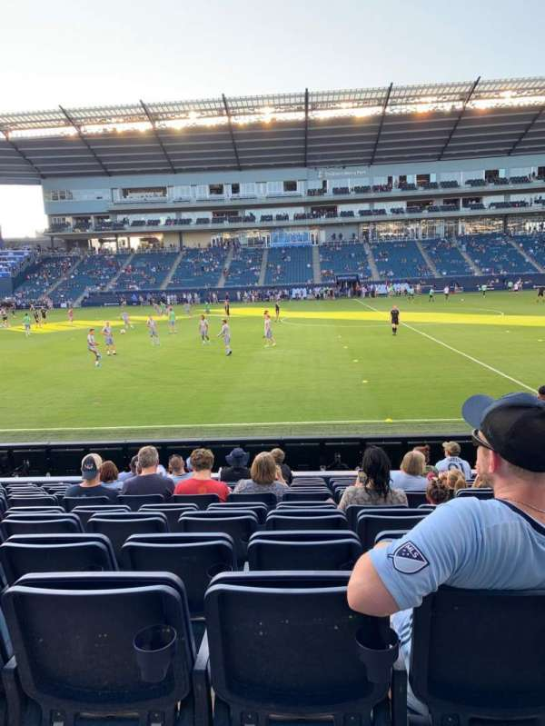 Children's Mercy Park, section: 129, row: 10, seat: 11