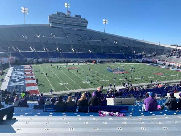 Liberty Bowl Memorial Stadium, section: 123, row: 53, seat: 17