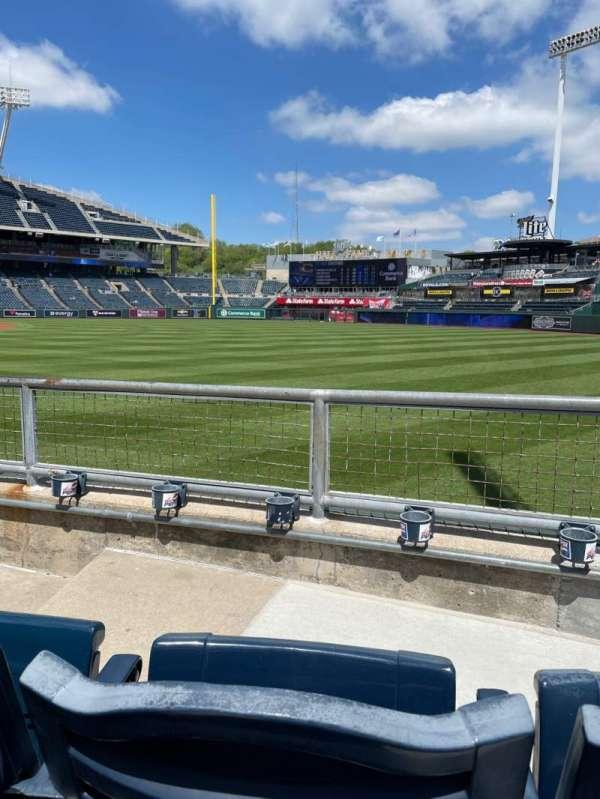 Kauffman Stadium, section: 147, row: K, seat: 4