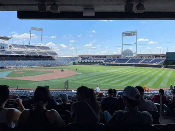 TD Ameritrade Park, section: 104, row: 31, seat: 3