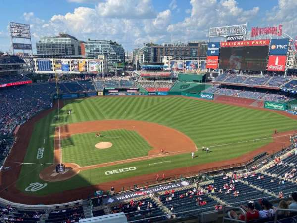 Nationals Park, section: 317, row: J, seat: 3