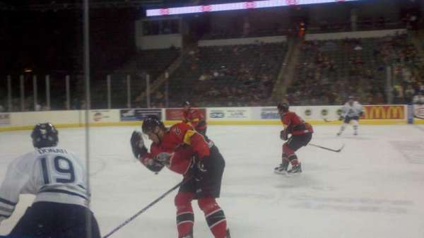 Sears Centre, section: 102, row: 2, seat: 10