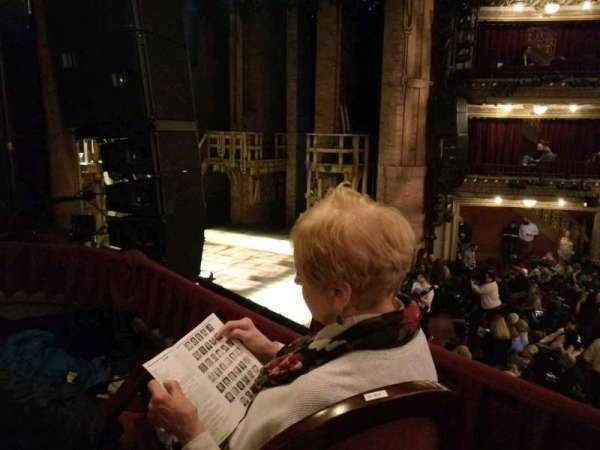 CIBC Theatre, section: DCRBX3, row: BX3, seat: 1