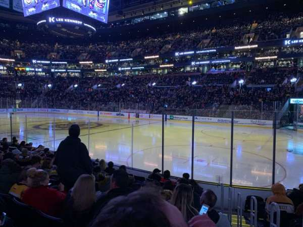 TD Garden, section: Loge 20, row: 10, seat: 2
