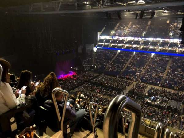 The O2 Arena, section: 405, row: O, seat: 563