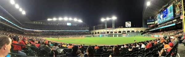 Minute Maid Park, section: 131, row: 10, seat: 2