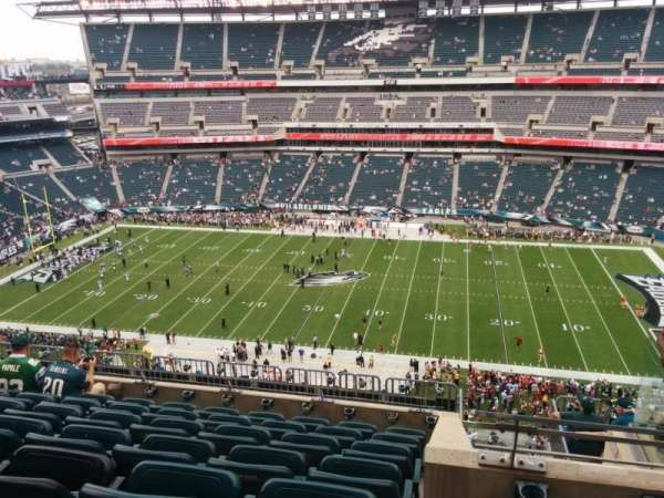 Lincoln Financial Field, section: 226, row: 11, seat: 9
