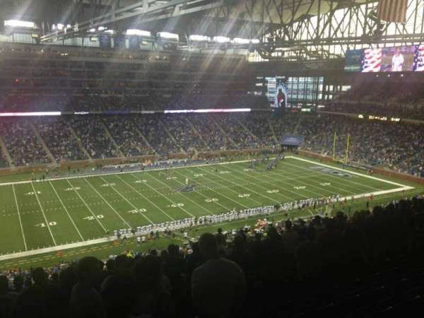 Ford Field, section: 328, row: 14, seat: 12
