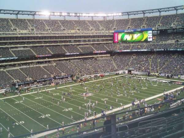 MetLife Stadium, section: 244, row: 8, seat: 6