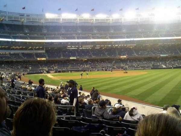 Yankee Stadium, section: 108, row: 18, seat: 6