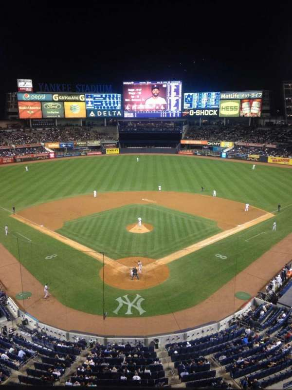 Yankee Stadium, section: 320b, row: 1, seat: 3
