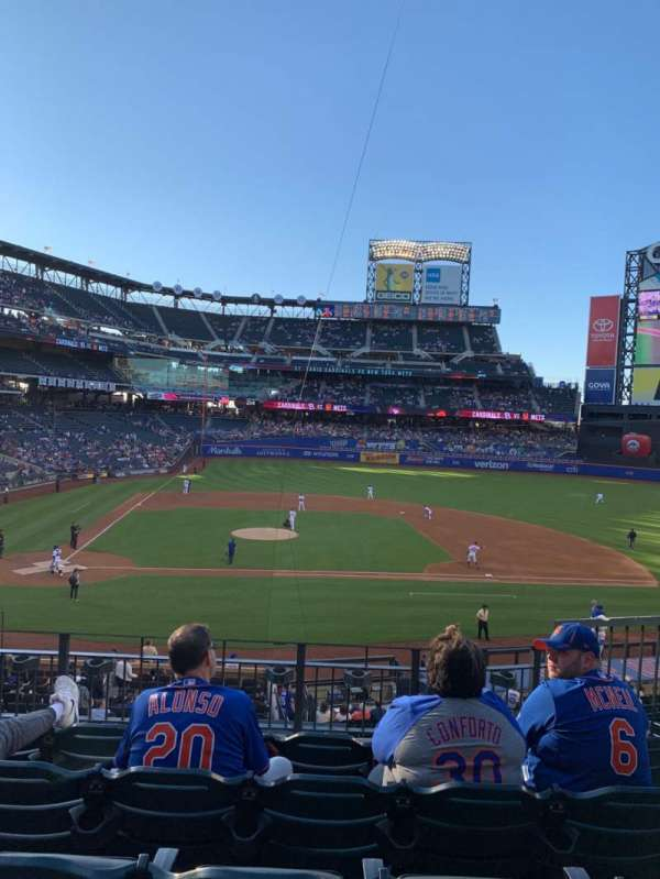 Citi Field, section: 115, row: 5, seat: 8