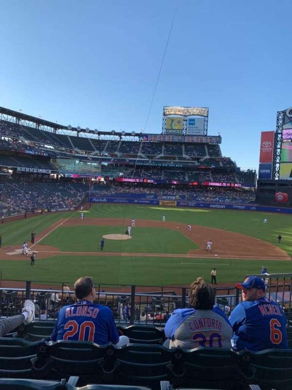 Citi Field, section: 115, row: 5, seat: 8