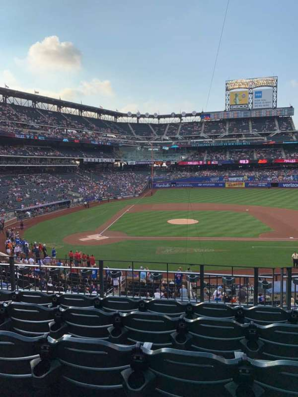 Citi Field, section: 115, row: 5, seat: 7