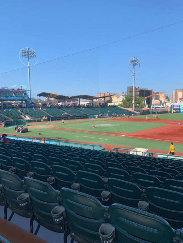 MCU Park, section: 16, row: T, seat: 16