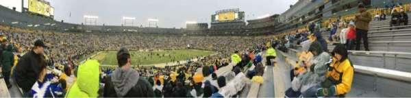 Lambeau Field, section: 114, row: 43, seat: 11