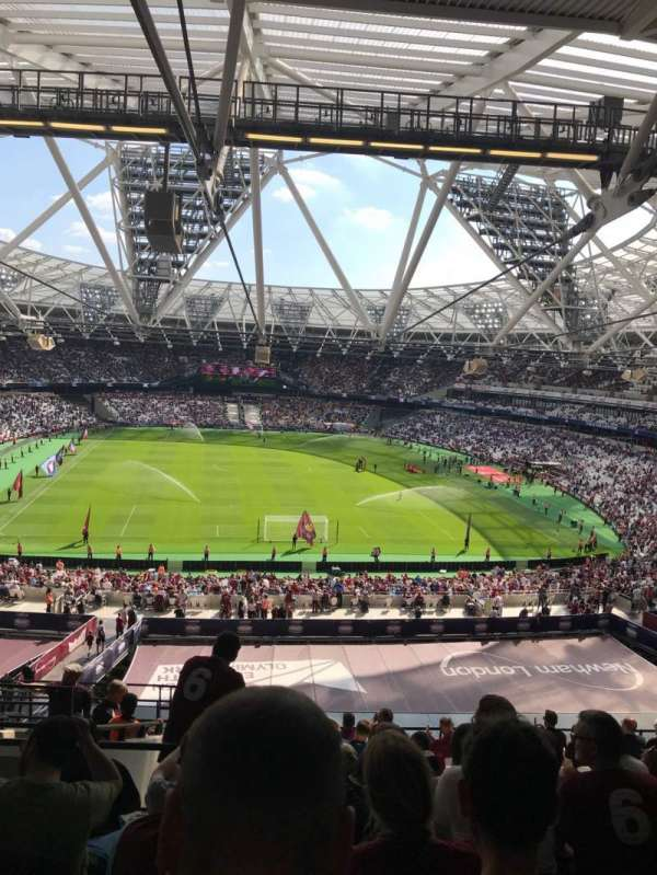 London Stadium, section: 249, row: 61, seat: 21