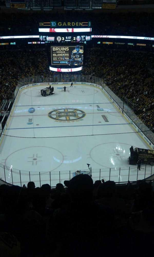 TD Garden, section: Bal 324, row: 9, seat: 9