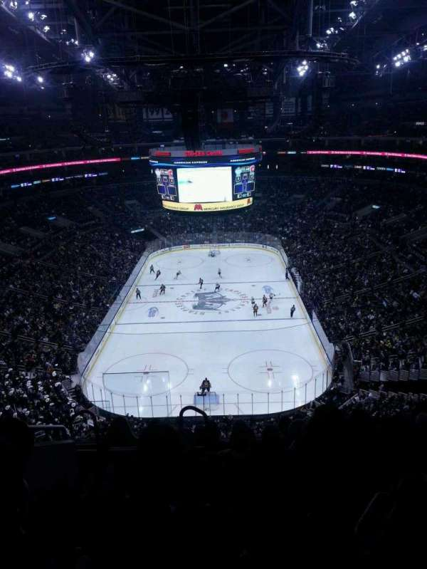 Staples Center, section: 309, row: 7, seat: 14