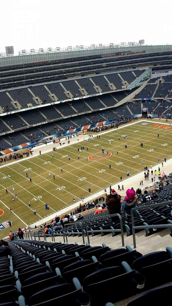 Soldier Field, section: 443, row: 37