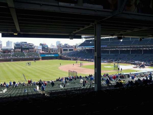 Wrigley Field, section: 208