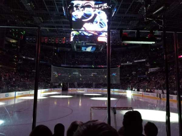 Nationwide Arena, section: 109, row: D, seat: 9