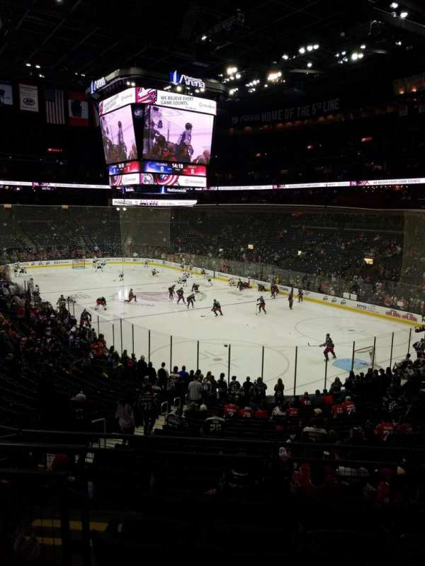 Nationwide Arena Section 122 Row Ee Seat 11 Columbus Blue Jackets