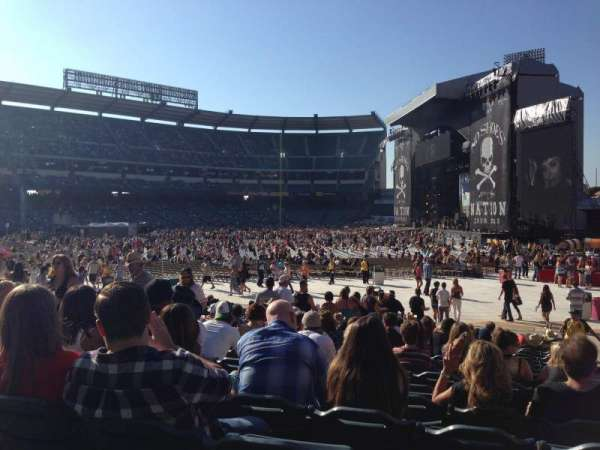Angel Stadium, section: F132, row: S, seat: 10