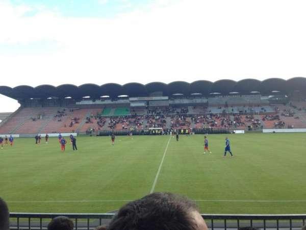 Stade Raymond Kopa, section: St Léonard centrale, row: Esc6 Rang D, seat: 104