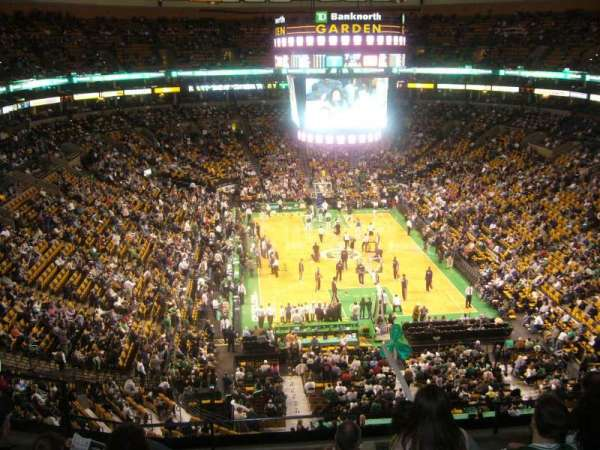 TD Garden, section: BAL 324, row: 6, seat: 14
