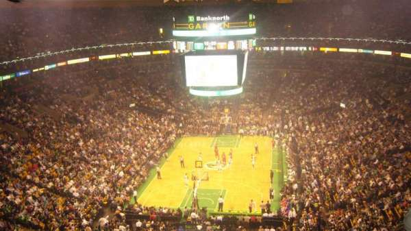 TD Garden, section: BAL 308, row: 10, seat: 5