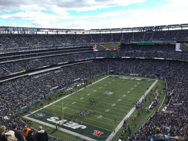 Metlife Stadium, section: 417, row: 17, seat: 18