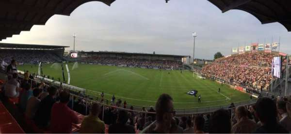 Stade Raymond Kopa, section: Jean Bouin Laterale, row: S, seat: 2