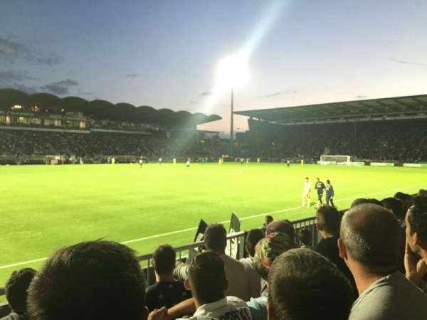 Stade Raymond Kopa, section: St Leonard Laterale, row: D, seat: 188