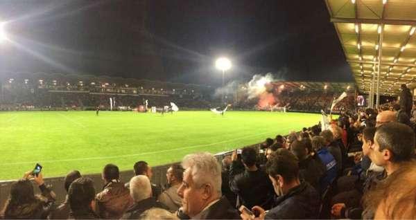 Stade Raymond Kopa, section: St Leonard Laterale, row: D, seat: 191