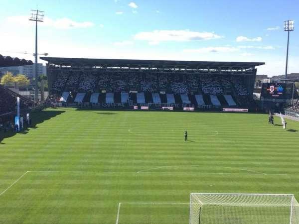 Stade Raymond Kopa, section: Colombier, row: Haute
