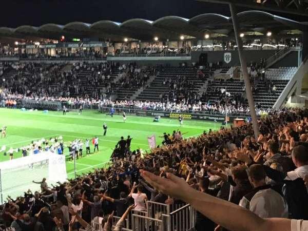 Stade Raymond Kopa, section: Coubertin F, row: AC, seat: 145