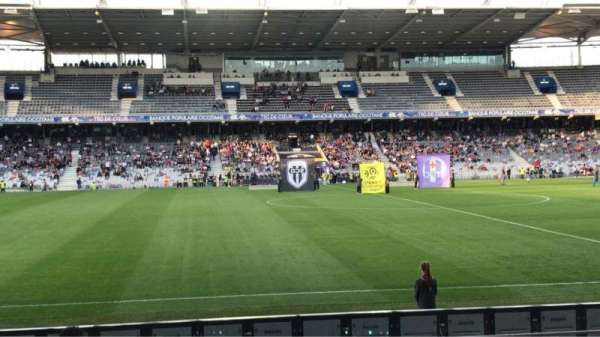 Le Stadium de Toulouse, section: Honneur Sud, row: 14, seat: 225
