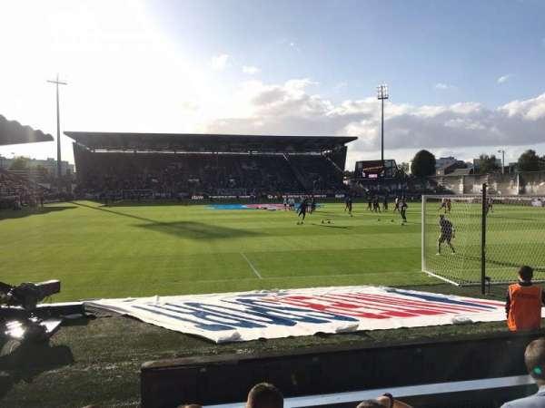 Stade Raymond Kopa, section: Colombier B, row: F, seat: 15