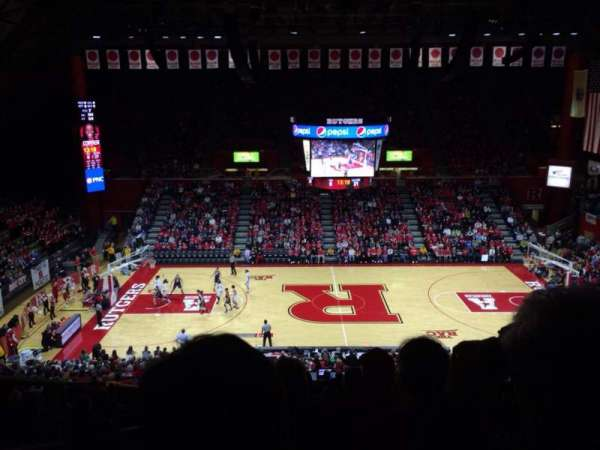 Rutgers Athletic Center, section: 214, row: Q, seat: 13