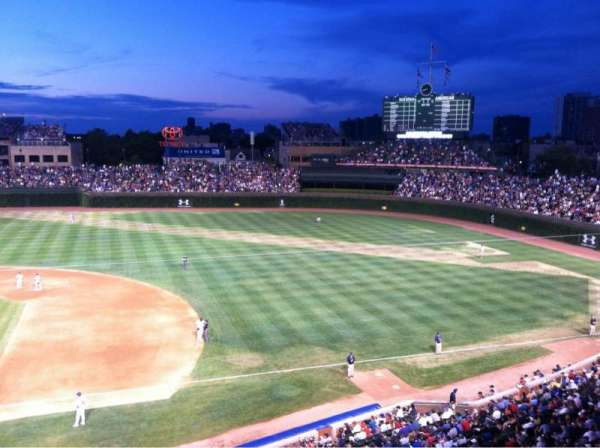 Wrigley Field, section: 430, row: 1, seat: 6