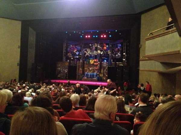 Matthews Theatre at the McCarter Theatre Center, section: Orchestra A, row: W, seat: 14