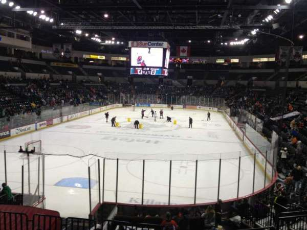 Cure Insurance Arena, section: 119