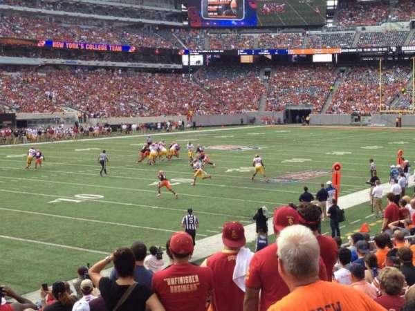 MetLife Stadium, section: 121, row: 32, seat: 6