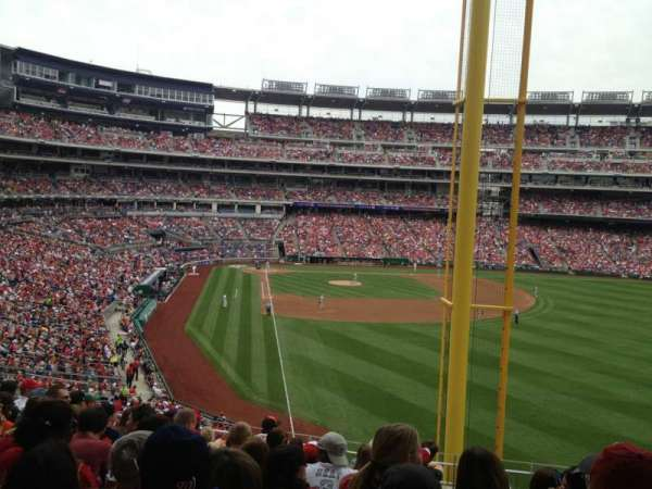 Nationals Park, section: 235, row: K, seat: 8