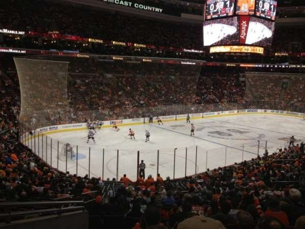 Wells Fargo Center, section: Club Box 22, row: 2, seat: 3