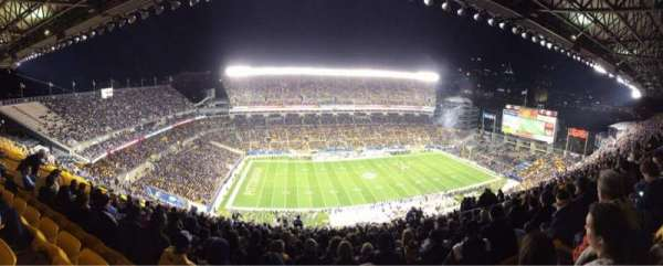 Heinz Field, section: 532, row: DD, seat: 13