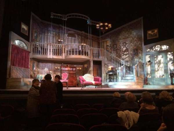 Walnut Street Theatre, section: Orchestra, row: G, seat: 112