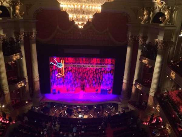 Academy Of Music, section: Amphitheater E, row: A, seat: 107