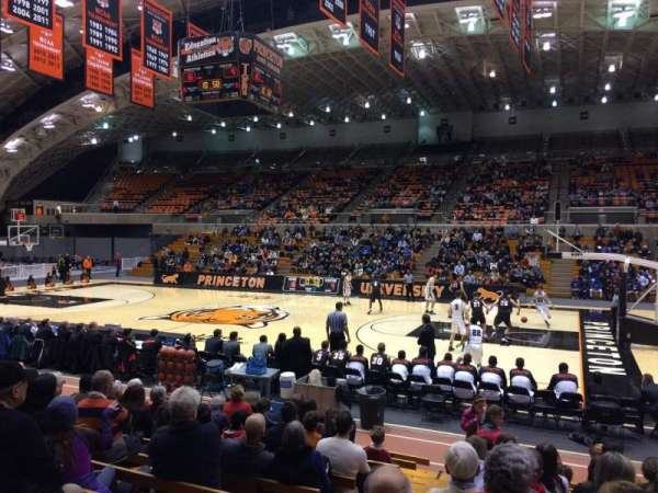 Jadwin Gymnasium, section: 2, row: 11, seat: 2